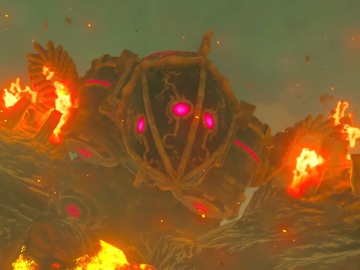 La Bestia Divina Rudania en The Legend of Zelda: Breath of the Wild
