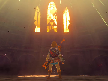 Escenario de la batalla final de The Legend of Zelda: Breath of the Wild