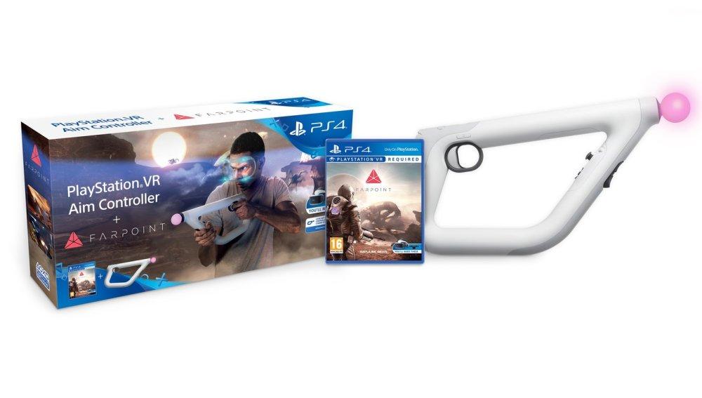 Far Point para PlayStation y el Aim Controller
