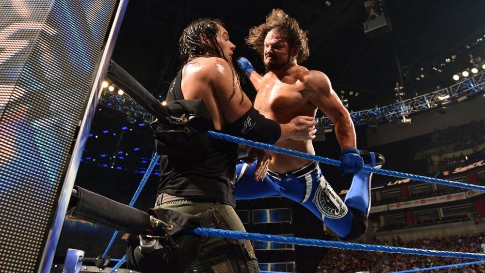 AJ Styles quiere llevarse el campeonato de Owens
