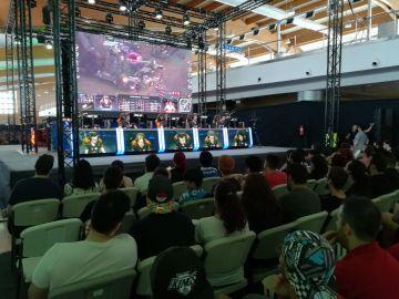 El público disfrutando durante la primera semifinal