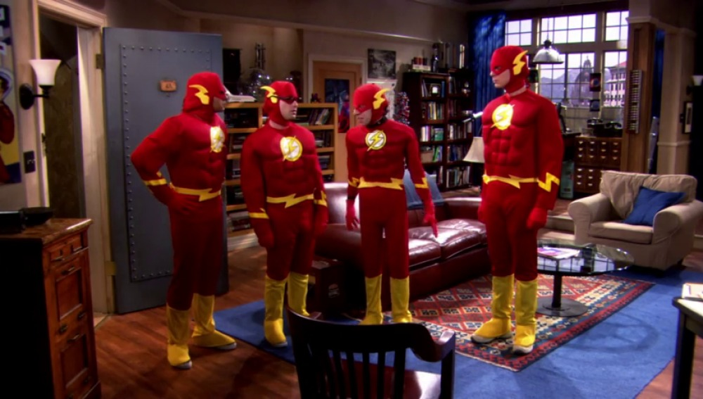 Frame 47.185142 de: The Flash, uno de los héroes favoritos de los chicos de The Big Bang Theory