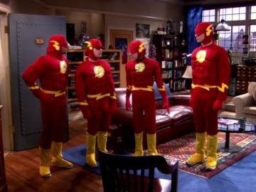 Frame 47.185142 de: The Flash, uno de los héroes favoritos de los chicos de The Big Bang Theory