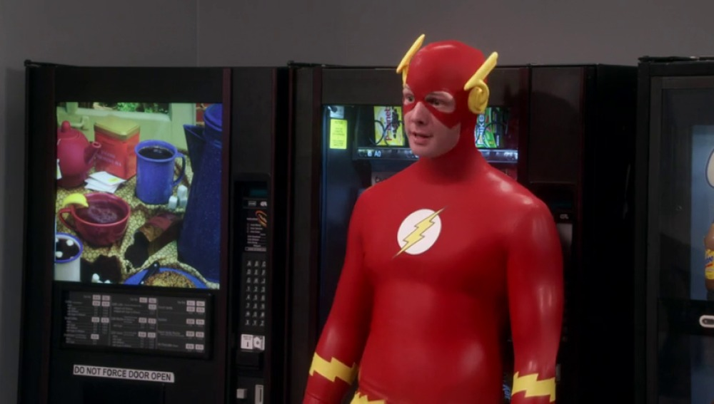 Frame 31.367271 de: Sheldon, cara a cara con The Flash
