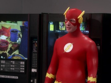 Frame 31.367271 de: Sheldon, cara a cara con The Flash