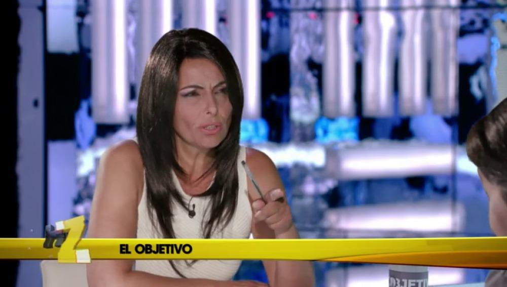 Frame 4.636421 de: Ana Pastor hace la prueba de verificación a Pablo Iglesias
