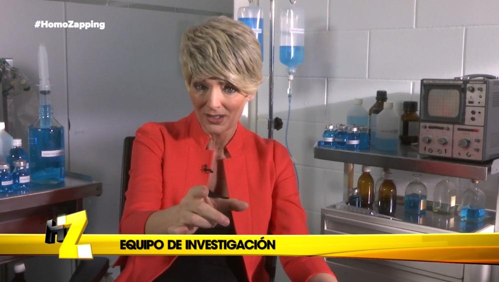 Gloria Serra en Homo Zapping