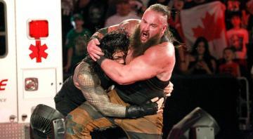 Braun Strowman y Roman Reigns se enfrentan en el último RAW antes de Great Balls of Fire