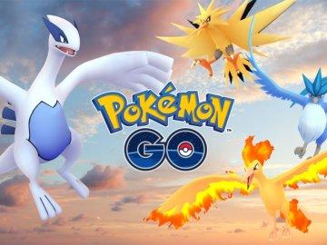 Legendarios de Pokémon GO