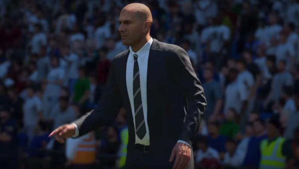 Zidane en FIFA 18