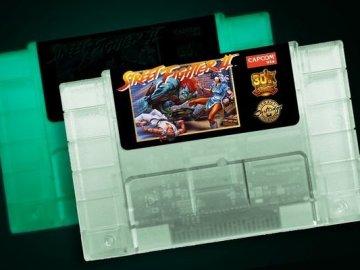 Nuevo cartucho de Street Fighter II