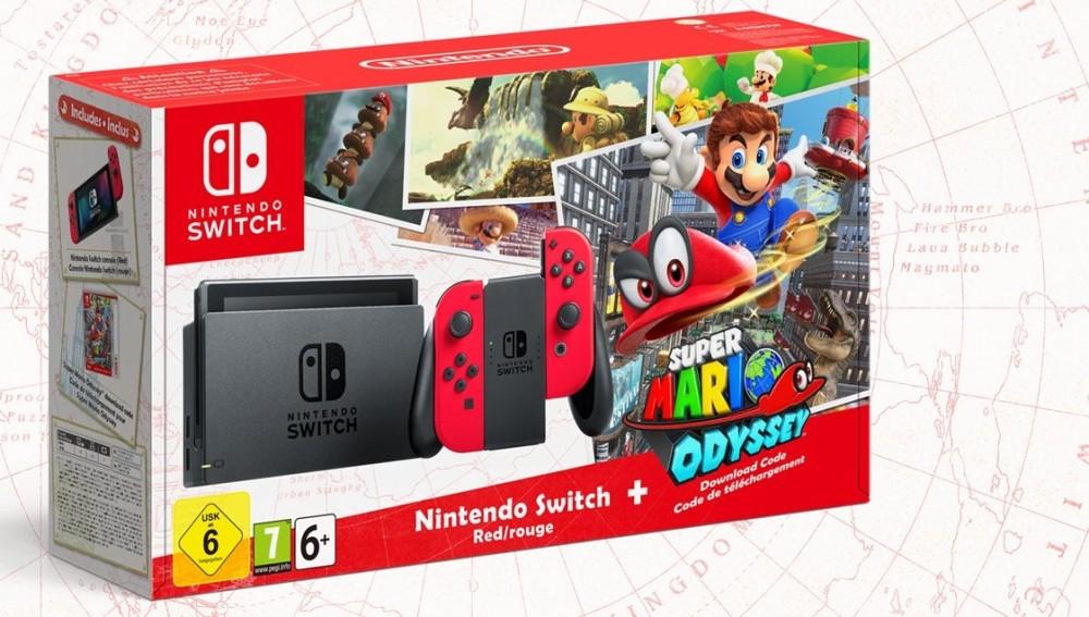 Pack Super Mario Odyssey