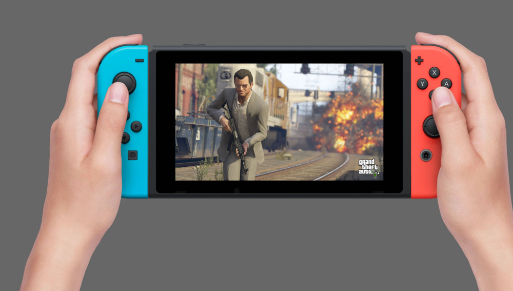 GTA V en Nintendo Switch