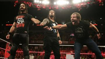 The Shield en 'Raw'