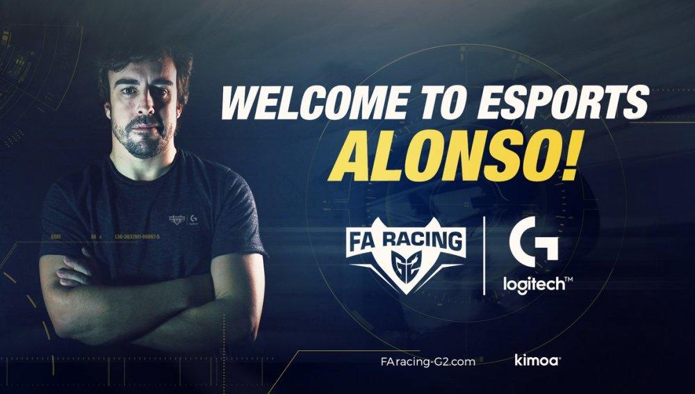 Equipo de eSports de Fernando Alonso