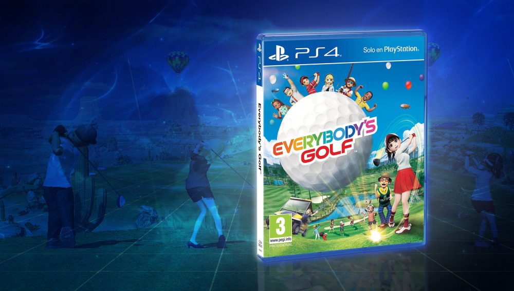 Llévate a casa el último Everybody's Golf para PS4