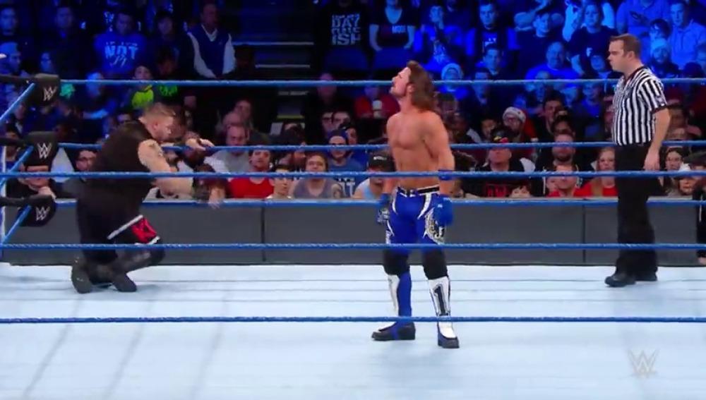 Un duelo de muchos quilates sobre el ring de Smackdown