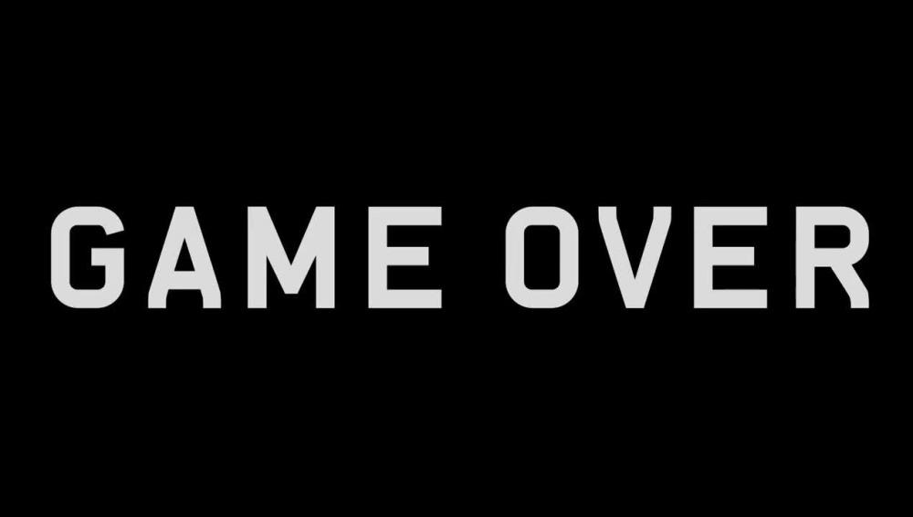Pantalla de Game Over