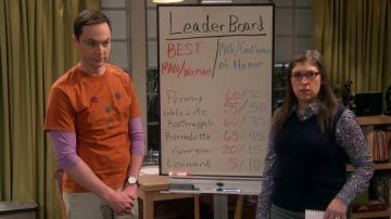 Amy y Sheldon eligen dama de honor y padrino con métrica cuantitativa