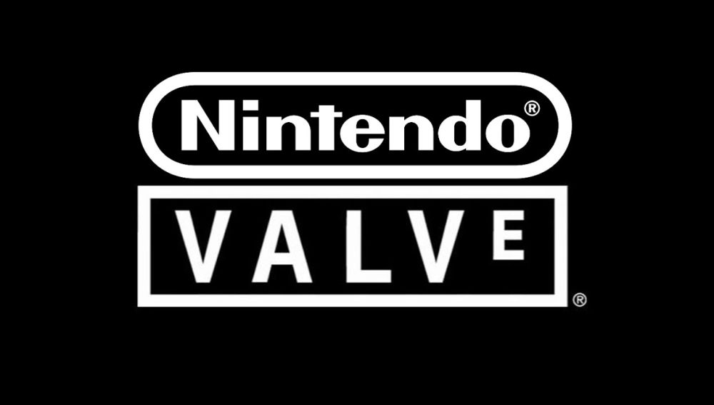 Logotipos de Nintendo y Valve