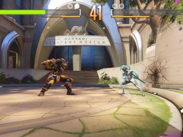 Overwatch convertido en un juego de lucha