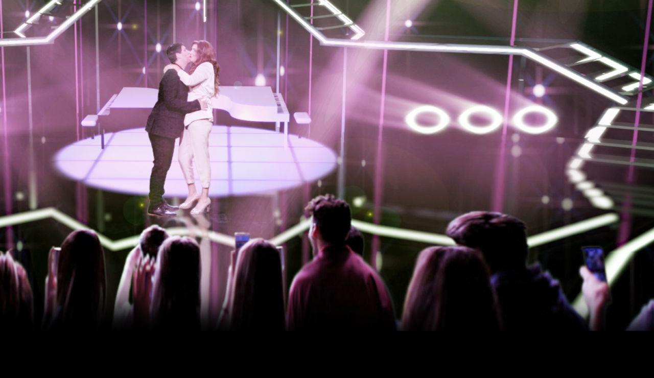 Vídeo inédito de Amaia y Alfred cantando 'Tu canción' en 'Homo Zapping'