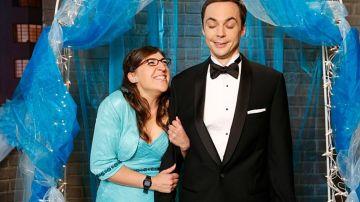Sheldon y Amy se dan el 'sí quiero'. Los momentos claves de su relación
